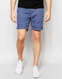 Базовые шорты со шнурком Brave Soul - Синий