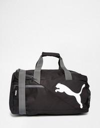 Черная сумка-дафл Puma Fundamentals 7349901 - Черный