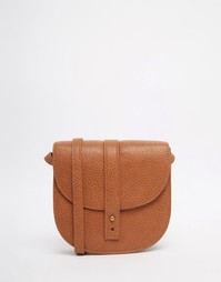 Фестивальная мини сумка-седло Monki - Коричневый