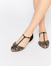 Летние носки с декоративной отделкой ASOS JANINE - Черный