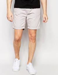 Базовые шорты со шнурком Brave Soul - Серый