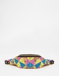 Яркая декорированная сумка-кошелек на пояс ASOS - Мульти