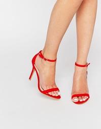 Легкие босоножки Glamorous Scarlet - Красно-алый