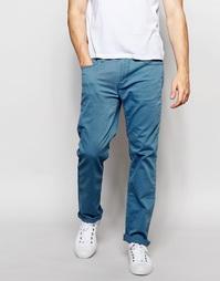 Зауженные брюки с 5 карманами Hollister - Синий
