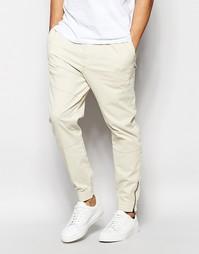 Спортивные штаны с манжетами Hollister - Stone