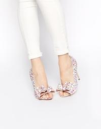 Туфли на высоком каблуке с открытым носком ASOS POPPY - Spot