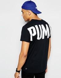 Футболка с принтом сзади Puma Evolution - Черный