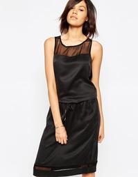 Платье с поясом Gestuz Anni - Черный