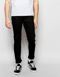 Черные джинсы слим Cheap Monday Sonic - Rinse black