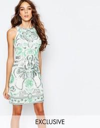 Цельнокройное платье с отделкой Frock and Frill