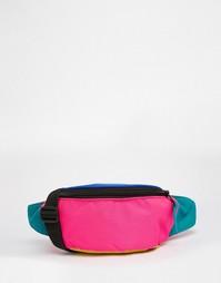 Сумка-кошелек на пояс контрастной расцветки ASOS - Мульти