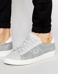 Сетчатые кроссовки Fred Perry Spencer - Серый