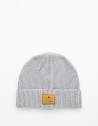 Серая шапка-бини ASOS - Серый