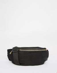 Нейлоновая сумка-кошелек на пояс ASOS - Черный