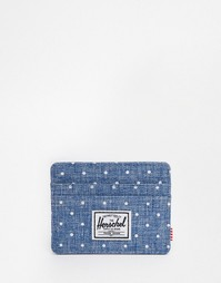 Визитница Herschel Supply Co Charlie - Синий