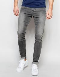 Супероблегающие джинсы с заниженным шаговым швом Dr Denim Leroy