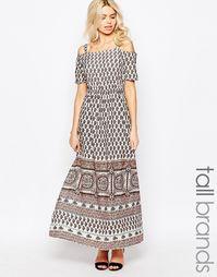 Платье макси Influence Tall - Мульти