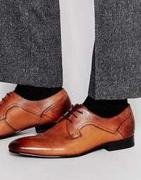 Кожаные туфли дерби Ted Baker Pelton - Коричневый