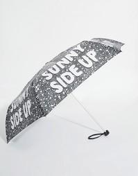 Зонт Monki Sunny Side Up - Черный