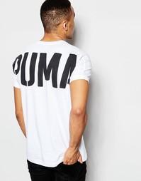 Футболка с принтом сзади Puma Evolution - Белый