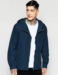 Темно-синяя куртка с капюшоном Minimum - 693 темный ирис
