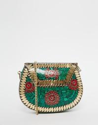 Маленькая сумка на плечо в винтажном стиле Park Lane