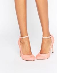 Туфли на высоком каблуке ASOS PLUSH - Розовый