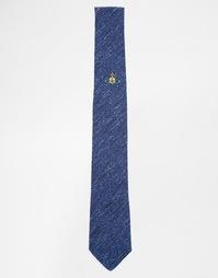 Галстук с логотипом Vivienne Westwood - Синий