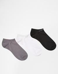 3 пары спортивных носков Calvin Klein - Мульти