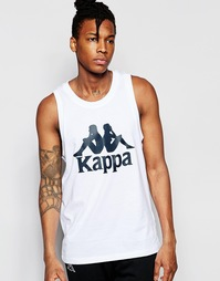 Майка с логотипом Kappa - Белый