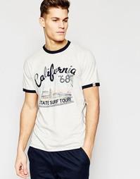 Футболка с принтом California Tokyo Laundry - Серый
