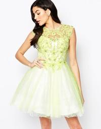 Платье для выпускного с кружевной аппликацией Forever Unique Winnie