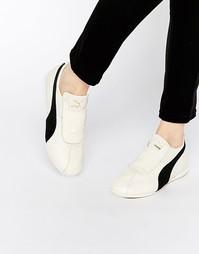 Низкие белые кроссовки Puma Eskiva - Белый