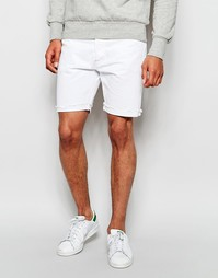 Белые джинсовые шорты с необработанной кромкой Levi's 501 Levi's®