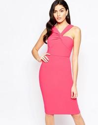 Платье миди на одно плечо с отделкой Forever Unique Aisha Aisha