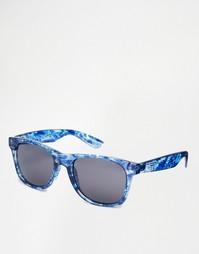 Солнцезащитные очки в синей оправе Vans Spicoli 4 VLC0J0W - Синий