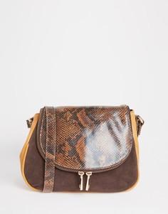Кожаная сумка-седло с длинным ремешком Urbancode