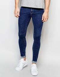 Супероблегающие джинсы Dr Denim Dixy - 70s stone