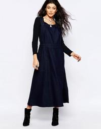 Джинсовое платье Free People - Темно-синий цвет