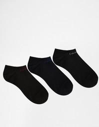 3 пары спортивных носков Calvin Klein - Черный