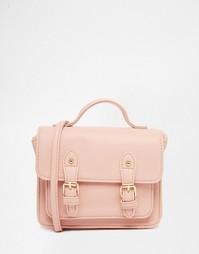 Компактная сумка-сэтчел ASOS - Румяный розовый