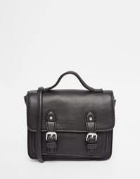 Компактная сумка-сэтчел ASOS - Черный