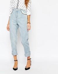 Свободные джинсы с карманами Suncoo - 30 синий