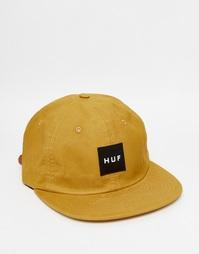 Регулируемая 6-панельная кепка HUF - Желтый