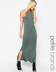 Платье макси Vero Moda Petite - Хаки