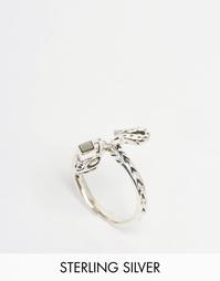 Серебряное кольцо в виде змеи Regal Rose A DARK LURE - Серебряный