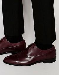 Туфли дерби с декоративной отделкой на носке HUGO by Hugo Dreols