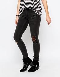 Зауженные джинсы Cheap Monday Prime - Черный