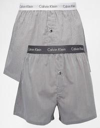 Набор из 2 трусов-боксеров слим Calvin Klein - Мульти