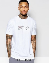 Oversize-футболка Fila Black - Белый